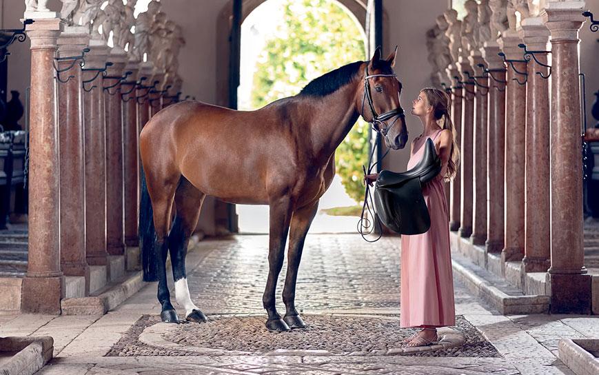 Kampania reklamowa siodeł Prestige Italia