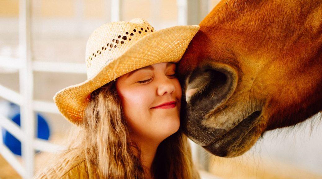 Szczęśliwy koń